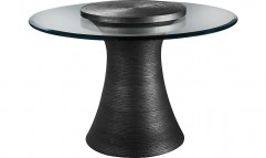 Katoucha Center Table Lazy Susan