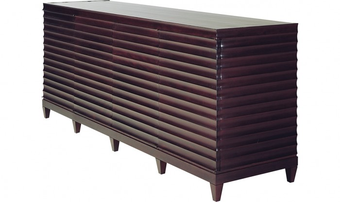 Fluted Low Cabinet